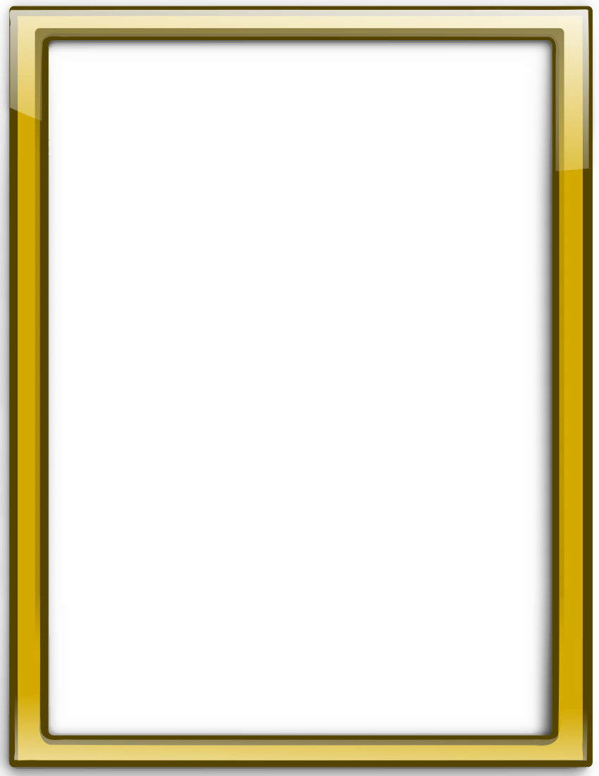 The gallery for --> Golden Frame Png